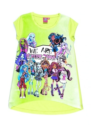 Monster High Tişört Yeşil